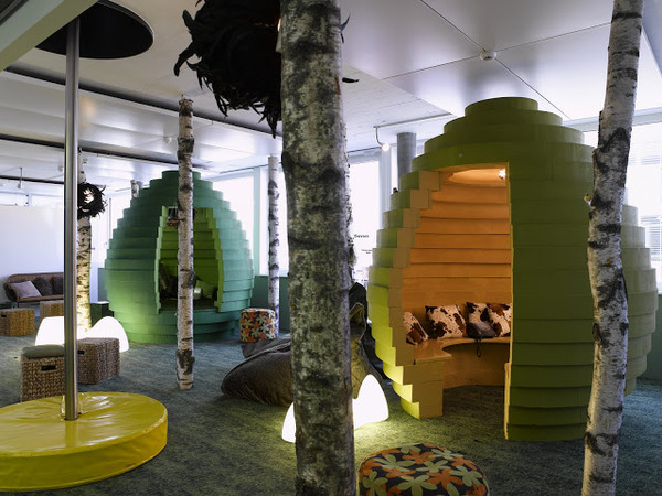 【画像】こんな所で働いてみたい!世界のオフィスが想像以上にすごい!!!のサムネイル画像