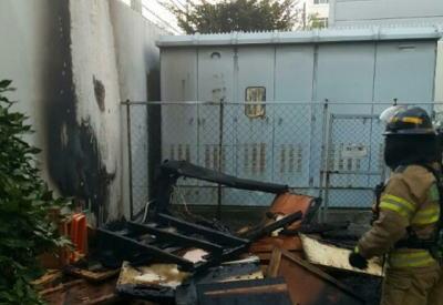 韓国釜山の日本領事館で放火か?のサムネイル画像