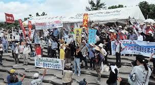 【沖縄】辺野古反対派を逮捕、警官の胸押した疑い ← 早くも共謀罪の影響かwwwwwwwwwwwwwwwwwのサムネイル画像