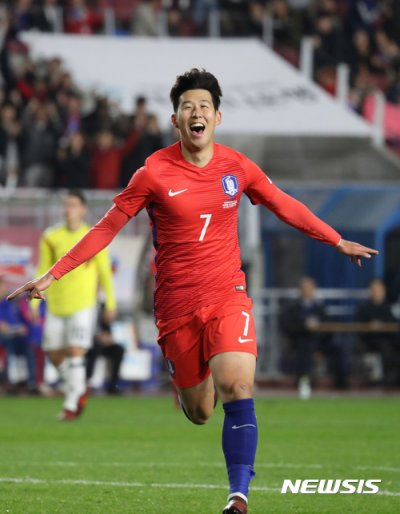 【gif】サッカー 韓国がコロンビア下す コロンビア選手が韓国に人種差別パフォーマンスのサムネイル画像