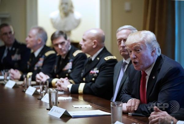 【緊急】トランプ米大統領、「嵐の前の静けさ」 と謎めいた発言 のサムネイル画像