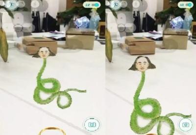 なにこれちょっと面白そう。中国がポケモンGOを丸パクリして作ったゲーム「山海经GO」のサムネイル画像