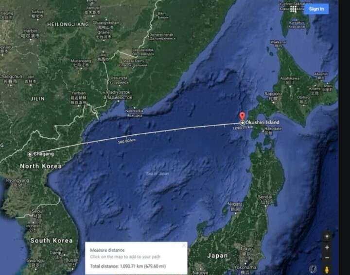 【悲報】北朝鮮のミサイル、原子力発電所を狙ったものだった…?のサムネイル画像