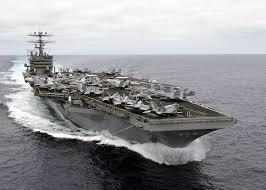 【悲報】空母カールビンソン「今度こそ朝鮮半島に向かう!」→ 搭乗のFA18パイロットが緊急脱出へwwwwwwwwwwwのサムネイル画像