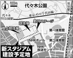 【代々木新スタ】多機能を備える進化形アリーナ 「渋谷のブランド力を生かしたい」のサムネイル画像