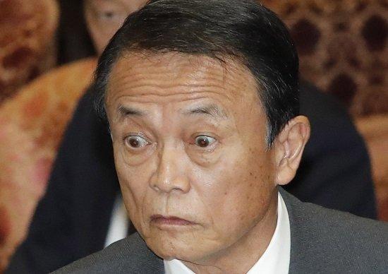 麻生太郎「TPPより森友の方が重大だと考えているのが日本の新聞のレベル」 のサムネイル画像