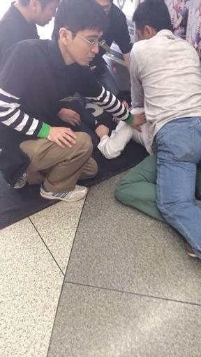 【恐怖】痴漢を疑われた時に、周囲にいる人物が取る行動wwwwwwwwwwwのサムネイル画像