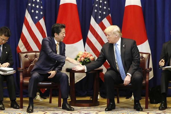 【衝撃】トランプ大統領、「シンゾーとの友情」が凄いwwwwwwwwwwwwwのサムネイル画像