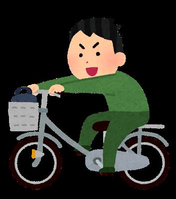 【狂気】自転車で「あおり運転」、逮捕された男がヤバすぎた・・・・・(動画)