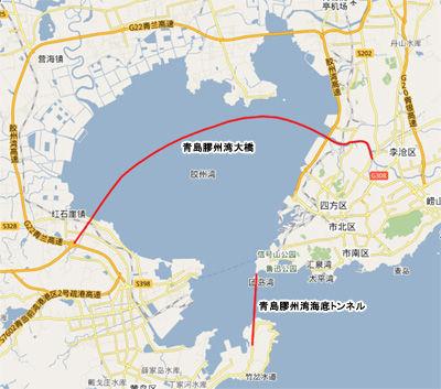 【衝撃】中国が計画している、世界最長の「海底トンネル」がエゲツない件wwwwwwwwwwwwwwwwwwのサムネイル画像