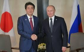 【在日米軍について】安倍首相、プーチンにとんでもない説明をしてしまうwwwwwwwwwwwwwwwwのサムネイル画像