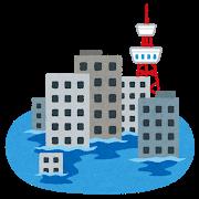 【台風19号】茨城県・水戸北IC付近、街全体が水没中してしまう・・・・・(画像あり)のサムネイル画像