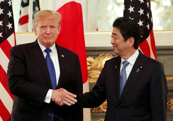 【速報】日米が電話会談、米朝会談前に日米首脳会談が決定のサムネイル画像