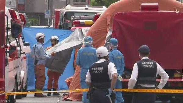 【速報】川崎市で児童など16人が刺される!!!!!!!!!!!のサムネイル画像