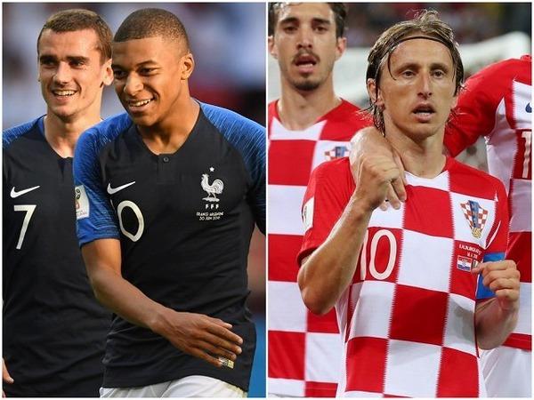【速報】ワールドカップ決勝、クロアチア対フランスの結果・・・・・・!!!のサムネイル画像