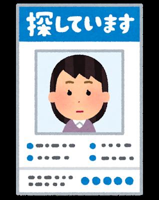 【速報】千葉・中3少女が行方不明!!!警察が写真を公開!!!!!