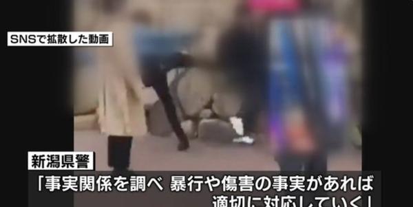 【新潟】高校生が数人にボコられる動画が拡散。これはヒドい・・・・・のサムネイル画像