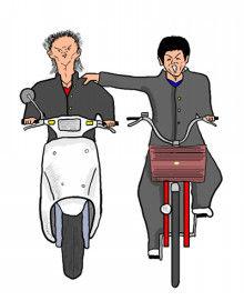 【驚愕】バイク5台で走行中、友人の肩を叩こうとした結果・・・・・のサムネイル画像