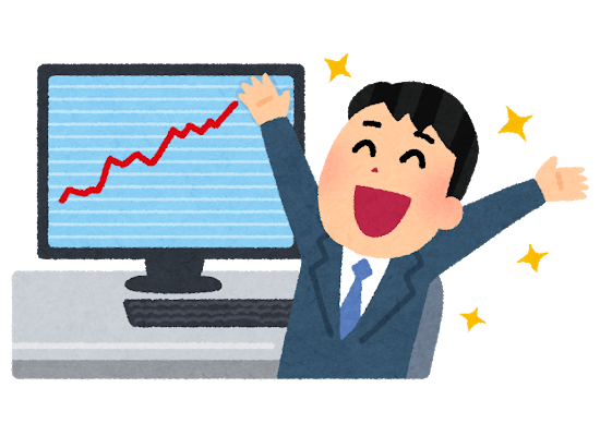 【速報】日経平均株価「超値上がり」でとんでもないことにwwwwwのサムネイル画像