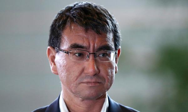 【速報】河野外相、韓国に「協議受け入れ」を迫る!!!!!!!!!のサムネイル画像
