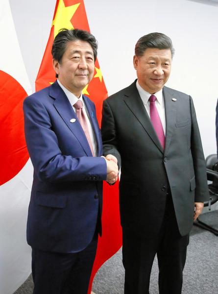 """【会談】安倍首相と習近平主席、""""これ""""に「合意」へwwwwwwwwwwwwwwwwwwのサムネイル画像"""