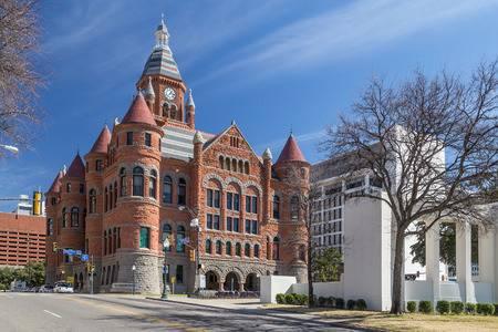 53573163-旧赤博物館、ダラス、テキサス州、ダラス郡の裁判所に以前