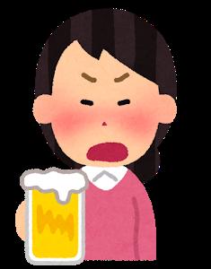 【恐怖】大阪の酔っぱらい女、電車内でやらかす…!!!!!!!!!のサムネイル画像