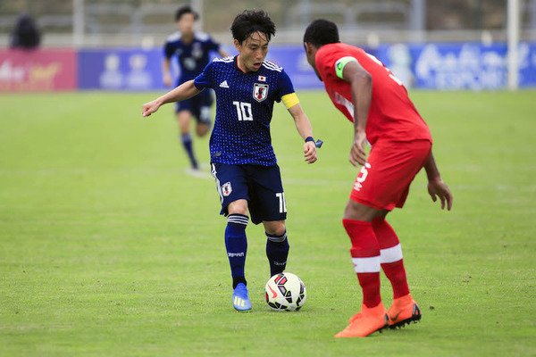 【トゥーロン国際大会】U21日本代表、カナダと対戦の結果・・・のサムネイル画像