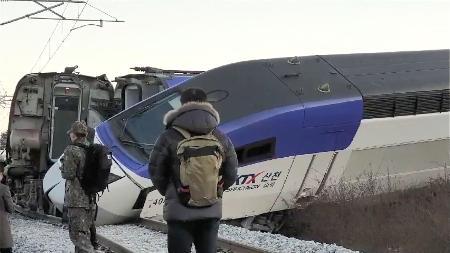 【韓国KTX脱線】事故調査委員会が暫定的な「原因」を報告!!!のサムネイル画像