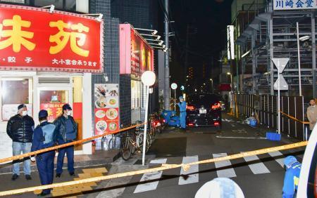 【速報】川崎市で発砲、2人けが 犯人逃走中のサムネイル画像