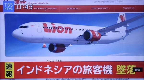 【速報】 旅 客 機、 墜 落のサムネイル画像