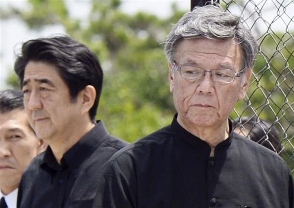 【沖縄】翁長氏の県民葬、安倍首相の出席は?→ 政府の意向が・・・・・のサムネイル画像