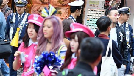 【LIVE映像あり】渋谷の仮装大会、本番が始まるwwwwwwwwwwwwwwwwwwwwwwwwwのサムネイル画像