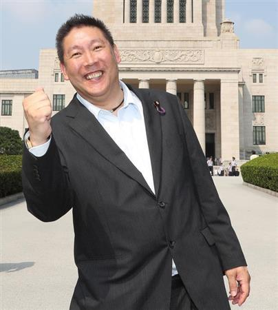 【速報】N国・立花党首(52)、26歳・司法書士(※画像)との交際を宣言!!!!!!!!のサムネイル画像