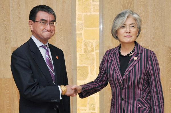 【速報】日韓外相会談・・・最悪の結末を迎えてしまう・・・・・のサムネイル画像