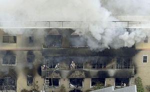 【現場速報】「京アニ火災」被害者たちの様子がガチで悲惨・・・・・のサムネイル画像