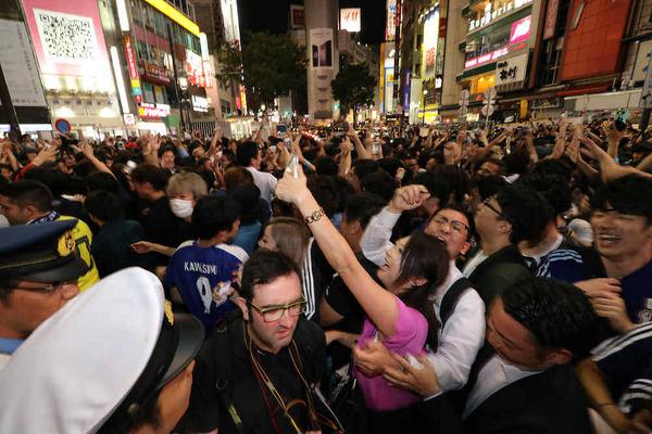 【注意】渋谷で女性に群がる「痴漢ゾンビ」の実態がヤバすぎる・・・のサムネイル画像
