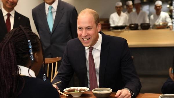 【悲報】ウィリアム王子、日本と中国を「混同」へ!!!→ その内容がwwwwwwwwwwwwwwwwのサムネイル画像