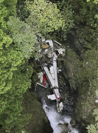 【緊急速報】群馬のヘリ墜落 → 捜索していた自衛隊員5人がとんでもないことに・・・・・のサムネイル画像