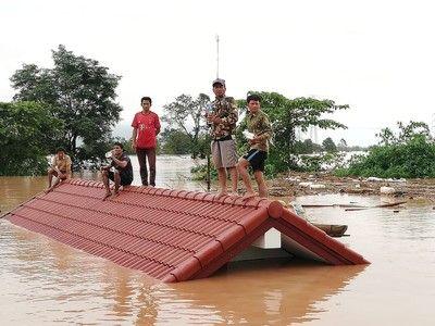 【衝撃】韓国の建設会社が施工、ラオス「ダム事故」の末路が・・・・・のサムネイル画像