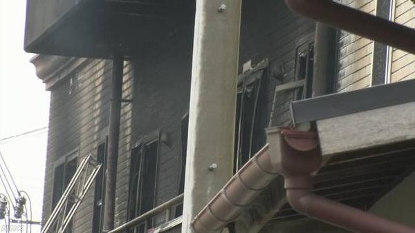 """【速報】「京都アニメーション」火災 複数の人の""""死亡""""を確認のサムネイル画像"""