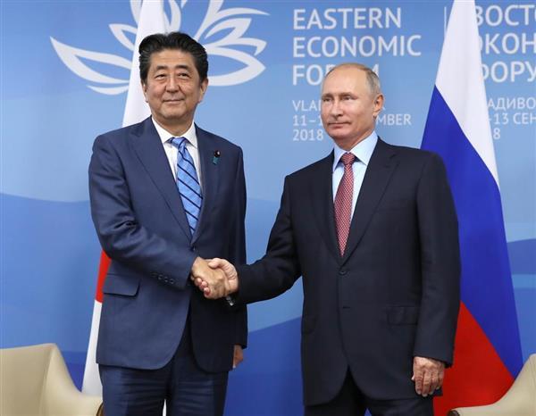【衝撃】安倍首相、ロシアで演説へ!!!→ 内容がヤバいと話題にwwwwwwwwwwwwwwwwのサムネイル画像