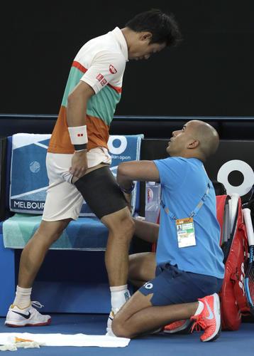 【速報】テニス全豪OP、錦織圭 vs ジョコビッチの末路が・・・・・のサムネイル画像