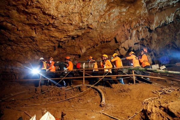 【タイ洞窟】 救出劇の模様が明らかに!(※画像あり)のサムネイル画像
