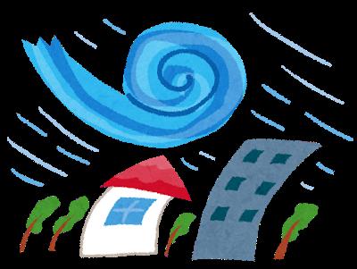 【速報】気象庁「屋根が飛びます、家も飛びます、道路のアスファルトも剥がれ飛びます」のサムネイル画像
