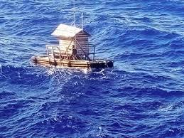 【衝撃】いかだ小屋で生活していた少年、小屋ごと太平洋に流されてしまう → その結果・・・・・のサムネイル画像