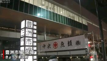 【驚愕】開場した豊洲市場で「女性が挟まれる」→ 救急搬送へ・・・・・のサムネイル画像