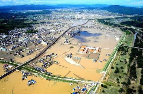 【驚愕】西日本の豪雨、防犯カメラが捉えた「濁流」の映像が衝撃的過ぎる件(動画あり)・・・・・のサムネイル画像