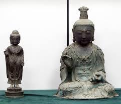 【悲報】韓国「とりあえず仏像は日本に返し、我々は複製品を持ってれば良いな!」 のサムネイル画像