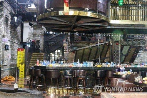 【韓国】ナイトクラブで崩落!!!→2人死亡、世界水泳出場の選手ら多数負傷へ!!!!!!!!のサムネイル画像